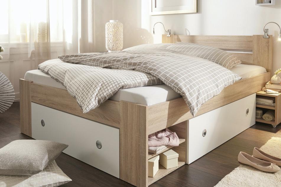 Praktisches Bett zum Traumpreis abzugeben...