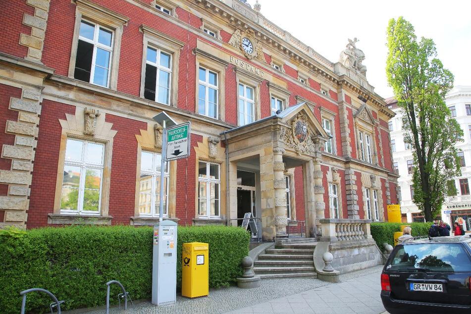Tatort Postbank - hier hatte der Tscheche allerdings kein Glück.