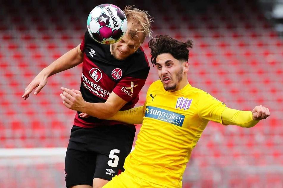 Ludovit Reis (rechts) spielte in der vergangenen Saison bereits in der zweiten Liga für den VfL Osnabrück.