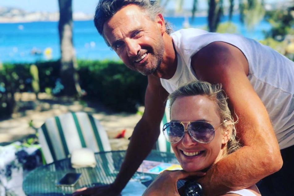 Heute lebt die Moderatorin mit ihrem Mann auf Mallorca.