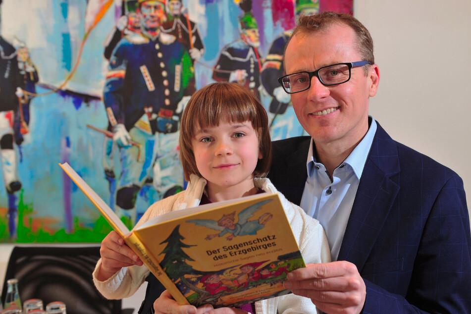 Sagenhaft! CDU-Politiker Krauß schreibt jetzt Bücher für Kinder