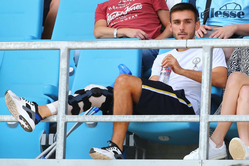 Vor gut einem Jahr hatte sich Ioannis Karsanidis seine erste schwere Knieverletzung zugezogen. Nun fällt der CFC-Spieler wieder aus (Archivbild).