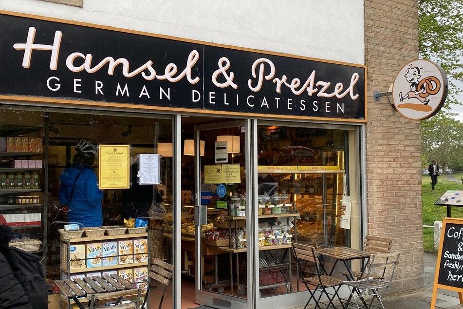 """Die deutsche Bäckerei """"Hansel & Pretzel"""" im Londoner Stadtteil Richmond."""