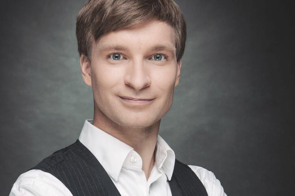 Kabarettist Erik Lehmann (36).