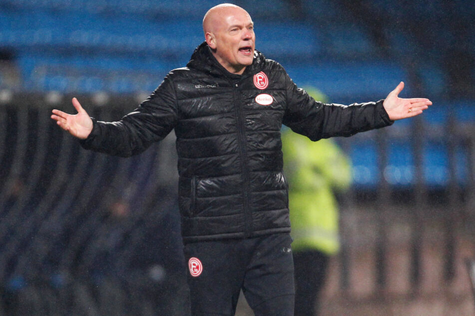 Fortuna-Coach Uwe Rösler (52).