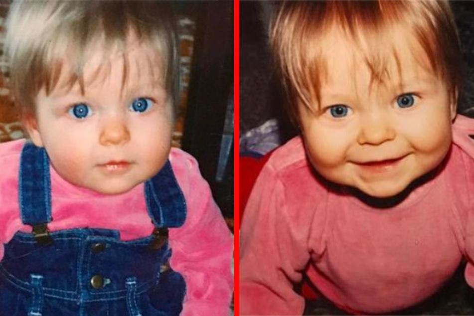 Die strahlend blauen Augen sind auch heute noch ihr Markenzeichen.