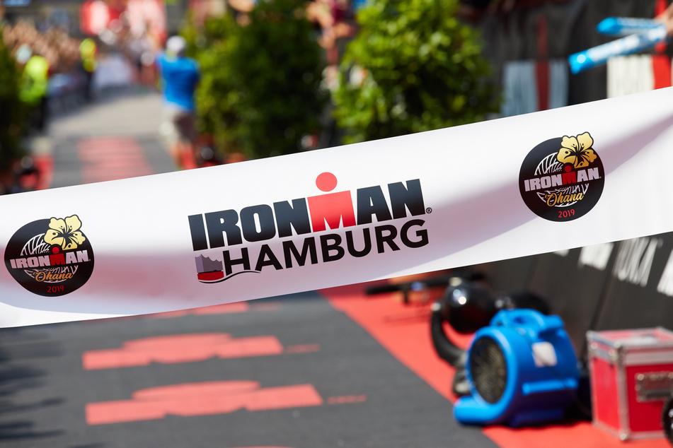"""Am Sonntag fand in Hamburg der """"Ironman"""" statt. (Archivbild)"""