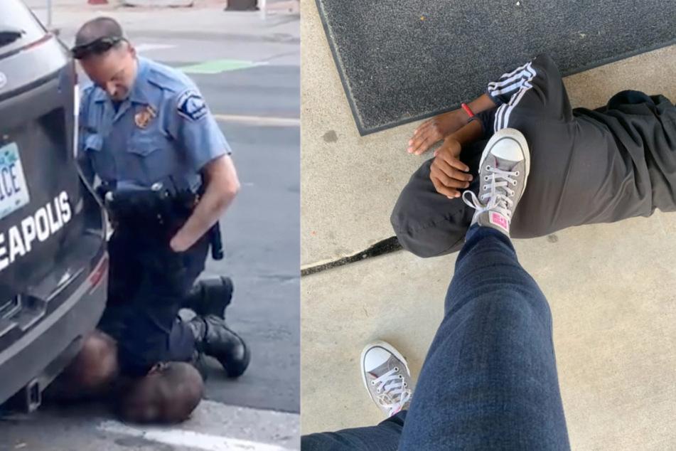 Nach George Floyd: Lehrerin fotografiert sich mit Schuh in Nacken von schwarzem Schüler (11)!