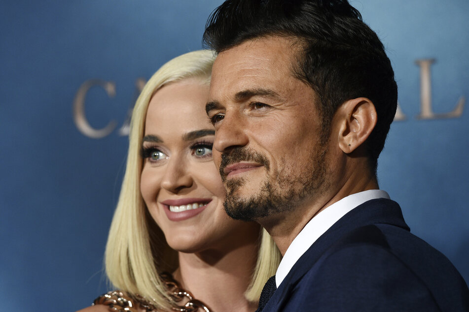 Orlando Bloom (43) und Katy Perry (36).
