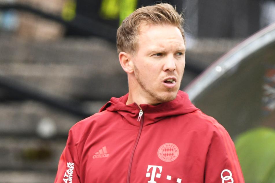 Julian Nagelsmann (34) und der FC Bayern München werden am Freitag nicht gegen den Bremer SV antreten. Die Partie wurde abgesetzt.