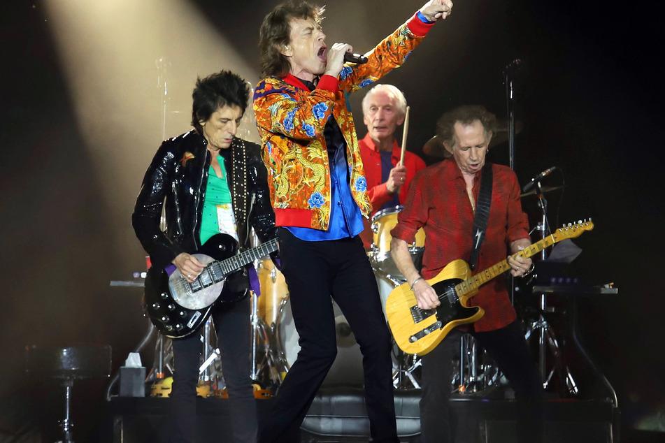 """Mick Jagger (77, v.) von den """"Rolling Stones"""" hatte Jürgen und seiner damaligen Freundin ein eindeutiges Angebot gemacht."""
