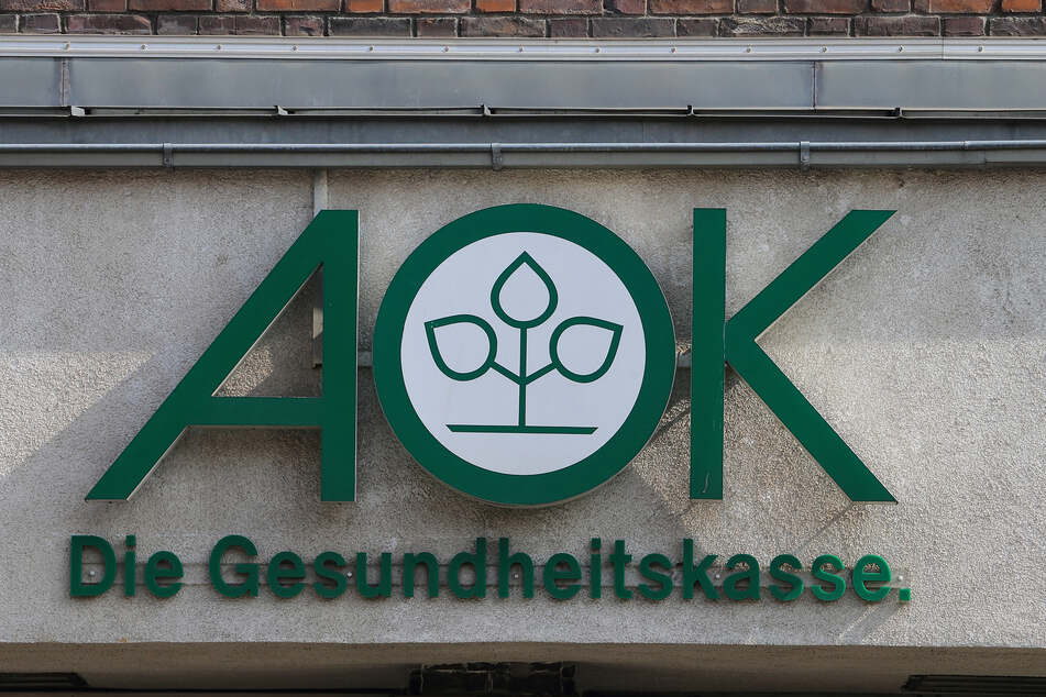Das Hauptgebäude der AOK Sachsen-Anhalt in Magdeburg.