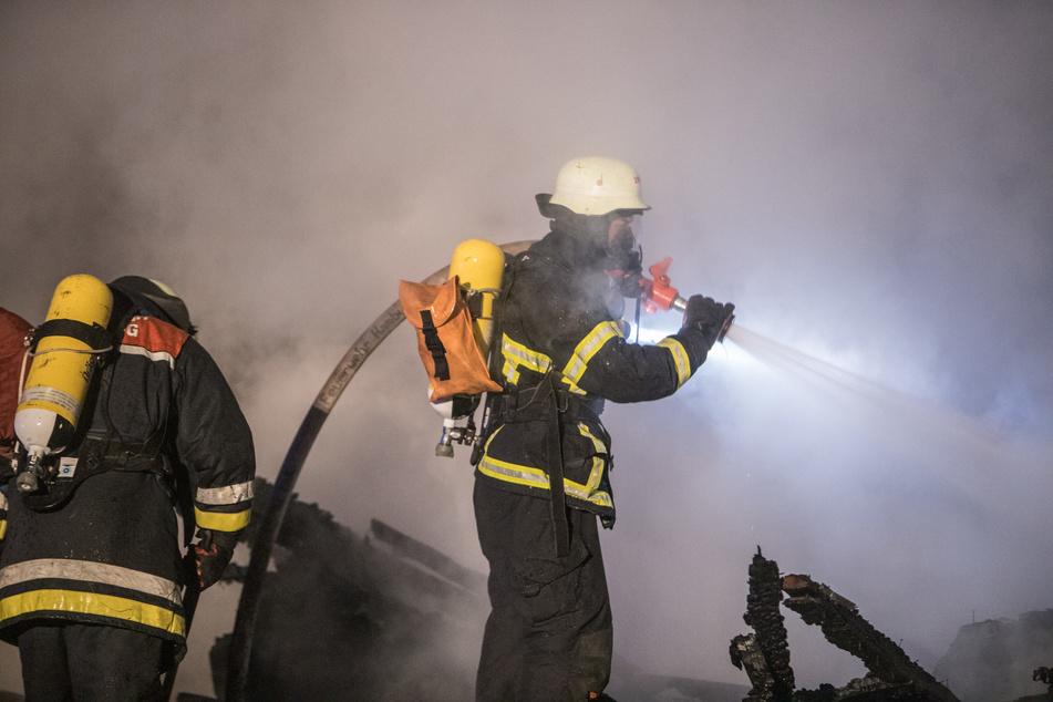 Schon wieder! Feuer in Hamburger Osten ausgebrochen