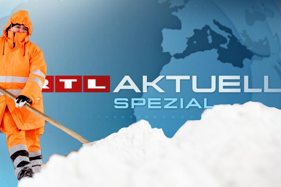RTL verschiebt am Montag sein abendliches Programm ab 20.15 Uhr. So wird der Sender eine Sondersendung zum heftigen Wintereinbruch in Deutschland ausstrahlen.