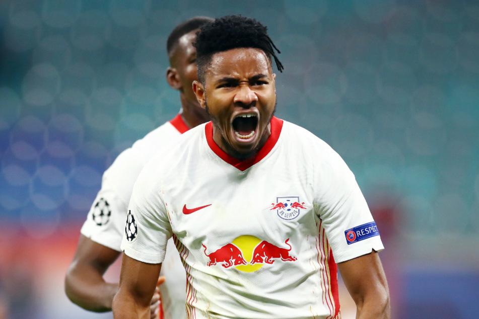 Christopher Nkunku (23) hat zuletzt gegen die Bayern in der Bundesliga getroffen. (Archivbild)