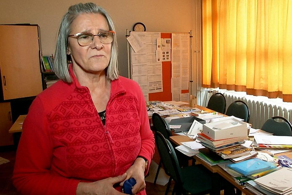 Schulleiterin Rita Schmidt (60) hofft, dass der Rest der Beute auch noch auftaucht.
