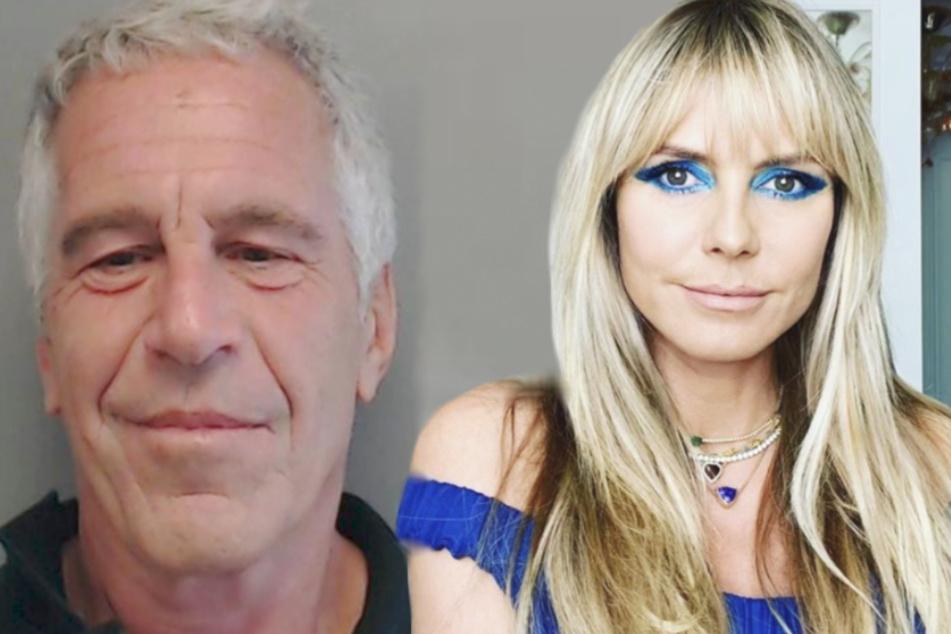 Heidi Klum: Heidi Klum bestreitet Kontakt zu Jeffrey Epstein