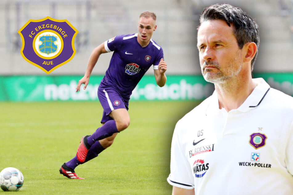 "Aue-Coach Schuster über Krüger: ""Lebensversicherung!"""