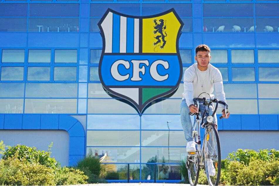 Fährt täglich mit dem Rennrad zum Training: CFC-Neuzugang Theo Ogbidi.