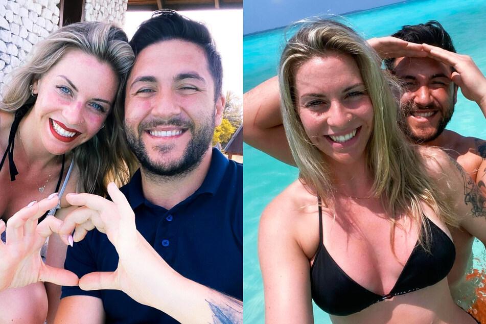 """Traumpaar aus der Datingshow """"5 Senses for Love"""": Sabrina (28) und Mehmet (29). Die 28-Jährige überraschte ihren Ehemann nun mit einem ganz besonderen Liebesbeweis."""