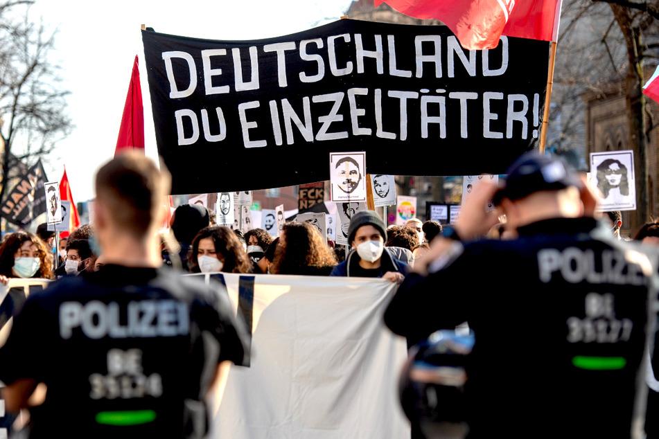 Tausende erinnern in Berlin an Anschlagsopfer von Hanau