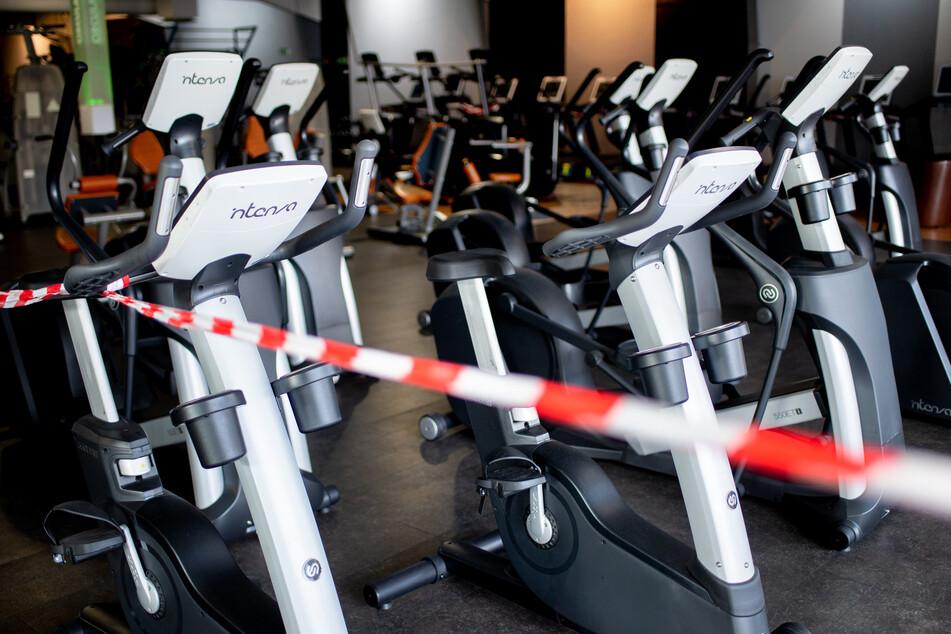 Fitnessstudios müssen im Teil-Lockdown geschlossen bleiben.