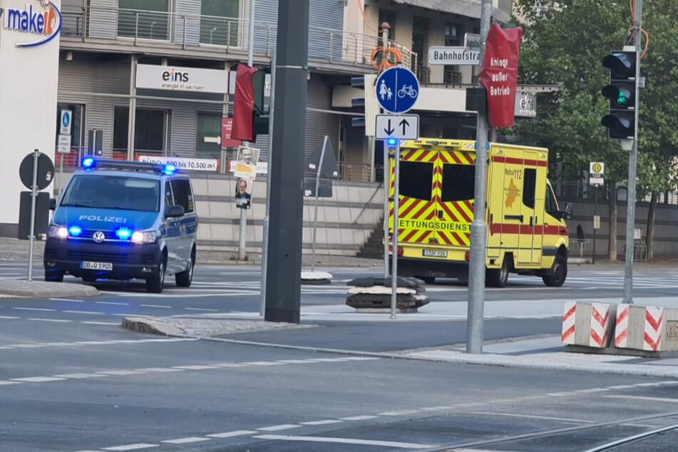 Chemnitz: Junger Mann in Chemnitz von Auto erfasst und schwer verletzt