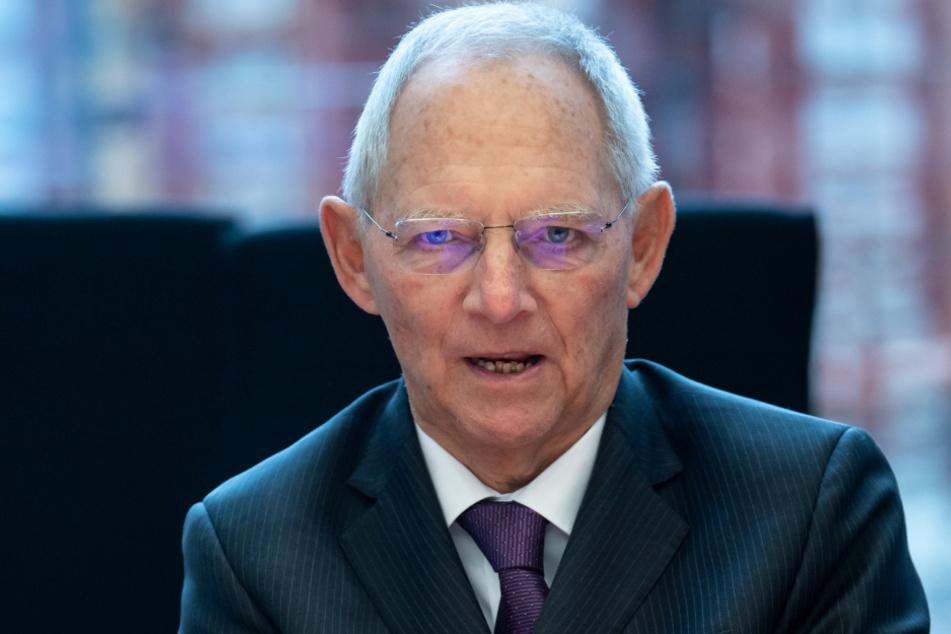 Wolfgang Schäuble (77, CDU), Bundestagspräsident.