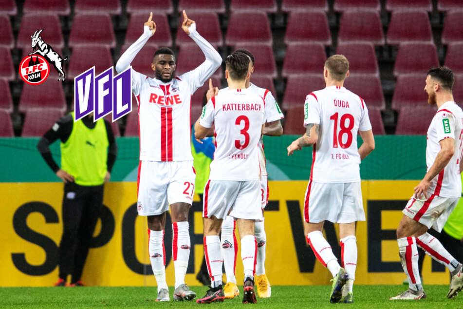 Anthony Modeste schießt 1. FC Köln zum knappen Pokalsieg gegen Osnabrück