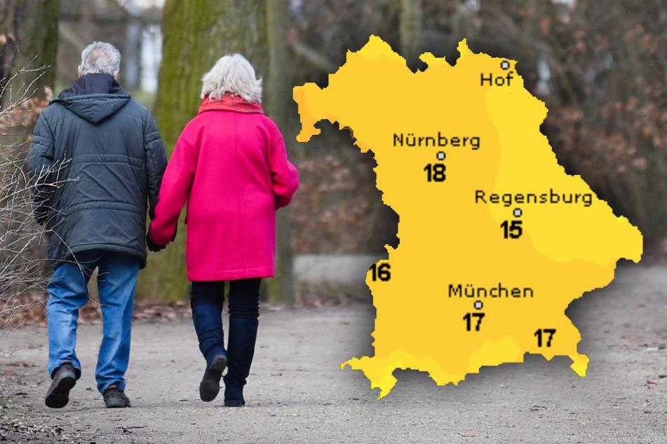 Sonne gegen den Corona-Frust? So wird das Wetter in Bayern