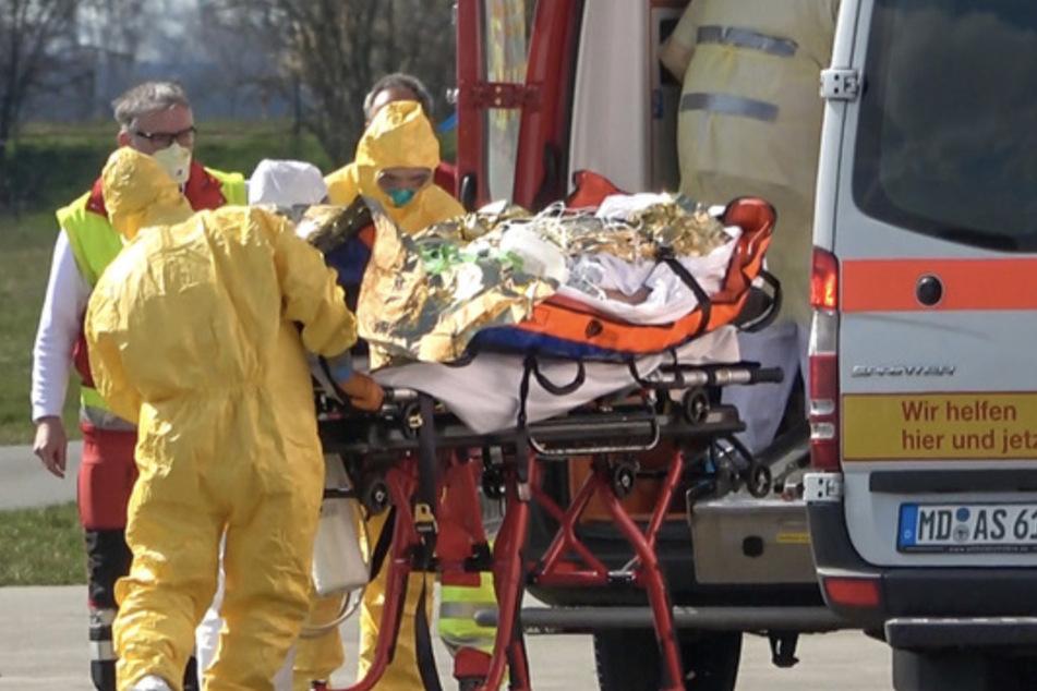 Corona-Patienten aus Bergamo in Sachsen-Anhalt gelandet