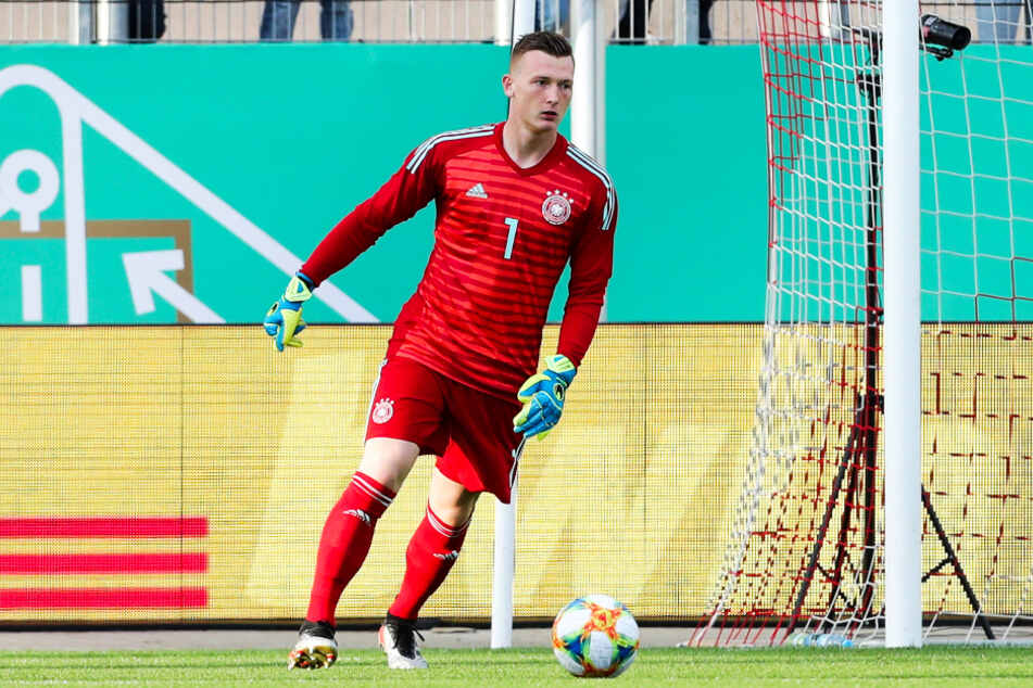 Markus Schubert (22) möchte in der deutschen U21-Auswahl weiterhin die Nummer eins im Tor sein.