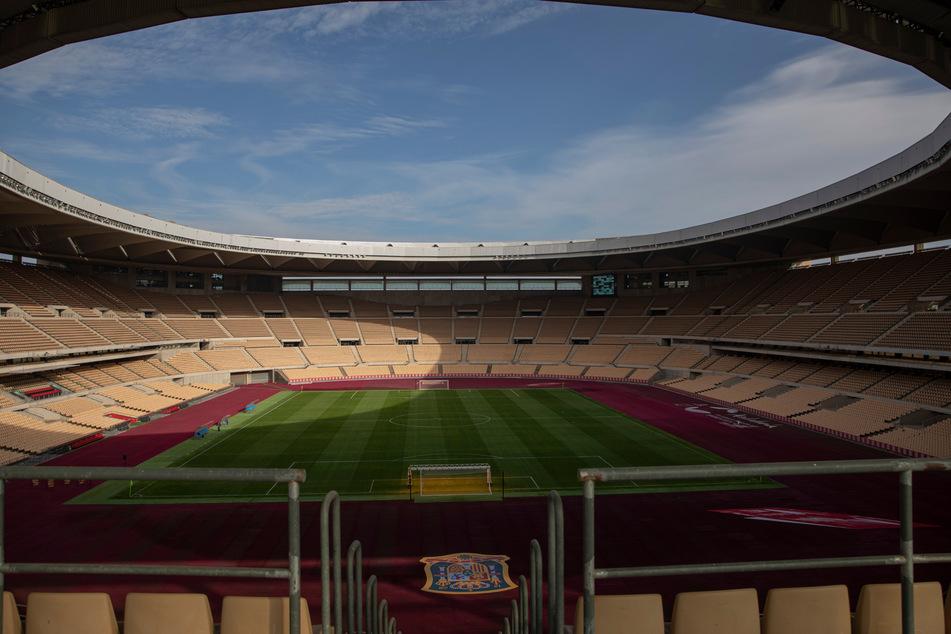 Innenansicht des Stadions La Cartuja in Sevilla. So leer muss es zum Glück nicht bleiben.