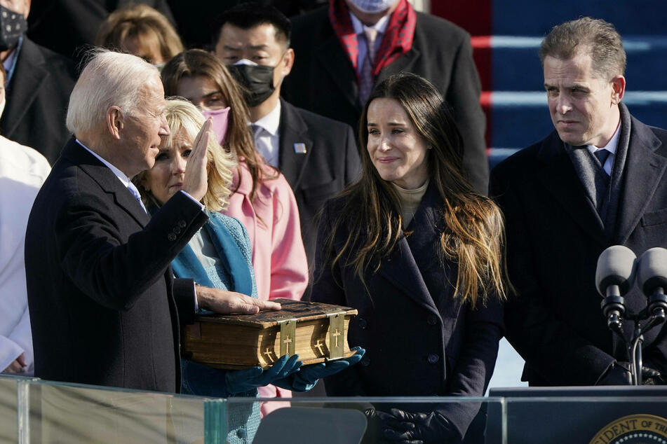 Inauguration Day: President Biden visits Arlington National Cemetary