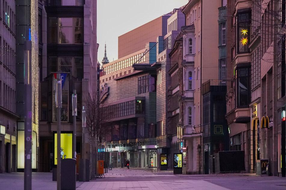 In Leipzigs Innenstadt könnte ab Dienstag wieder Leben kehren, denn die Verwaltung will Lockerungen umsetzen. Damit könnte es allerdings auch schnell wieder vorbei sein.