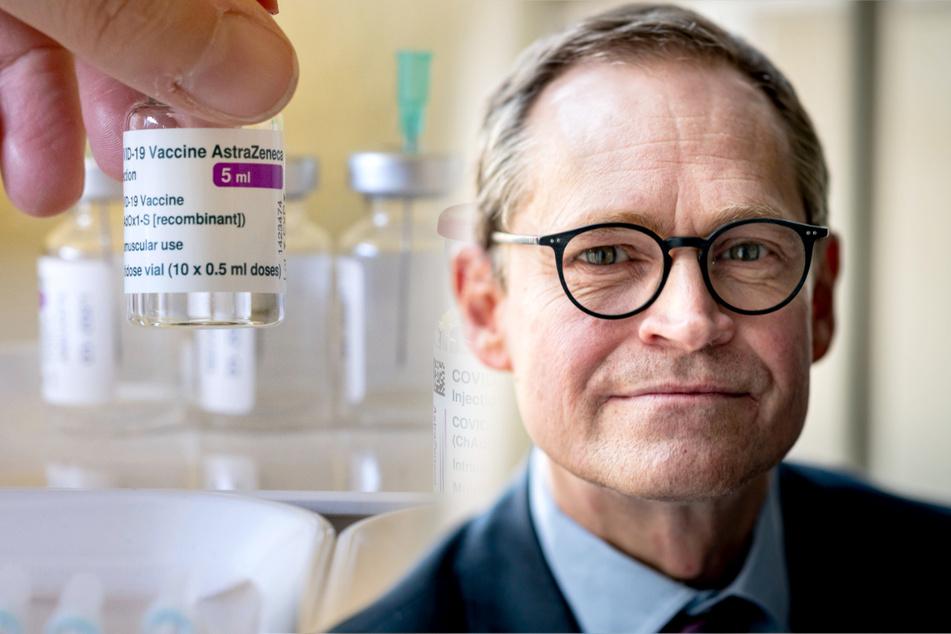 """Impf-Appell von Michael Müller: """"Würde mich sofort mit Astrazeneca impfen lassen"""""""