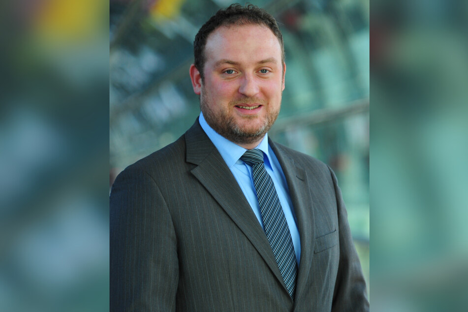 Uwe Schuhart (45) ist Sprecher der Mitteldeutschen Flughafen AG.