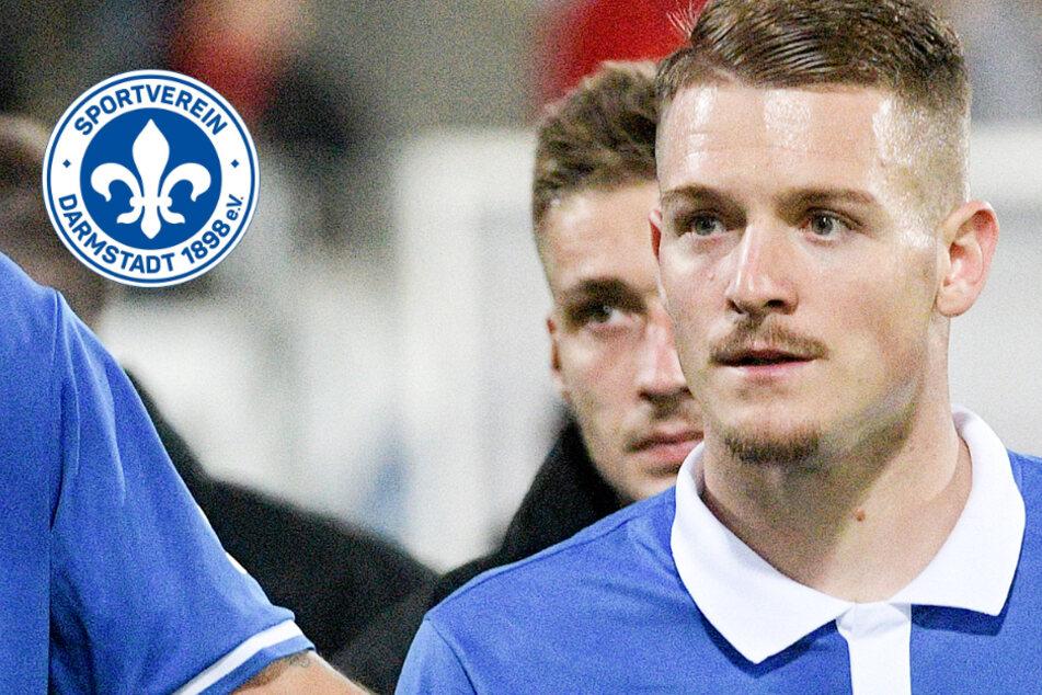 Stürmer Ognjen Ozegovic (26) verlässt den SV Darmstadt 98