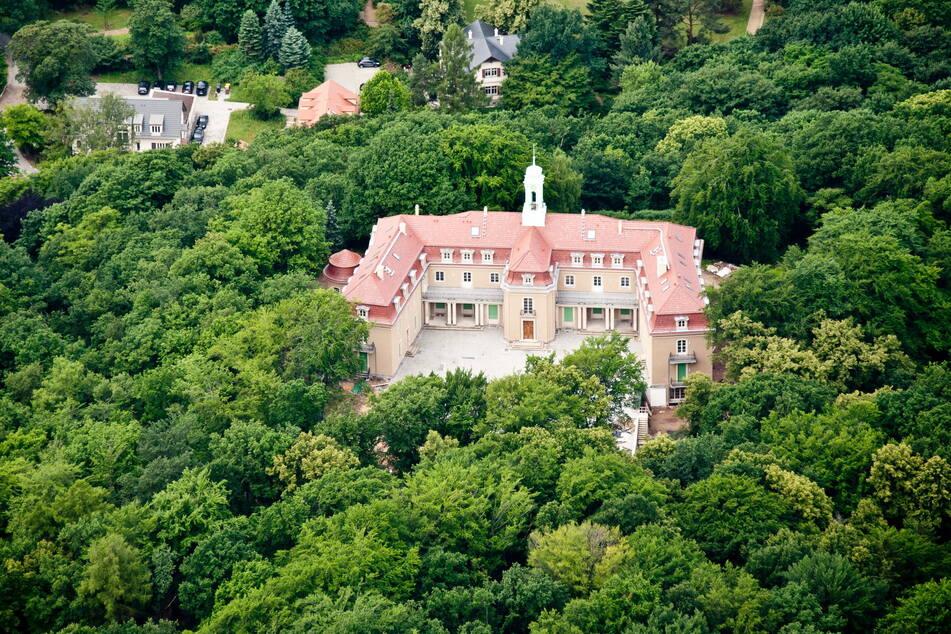 Schloss Wachwitz wurde erst in den 1930er-Jahren erbaut.