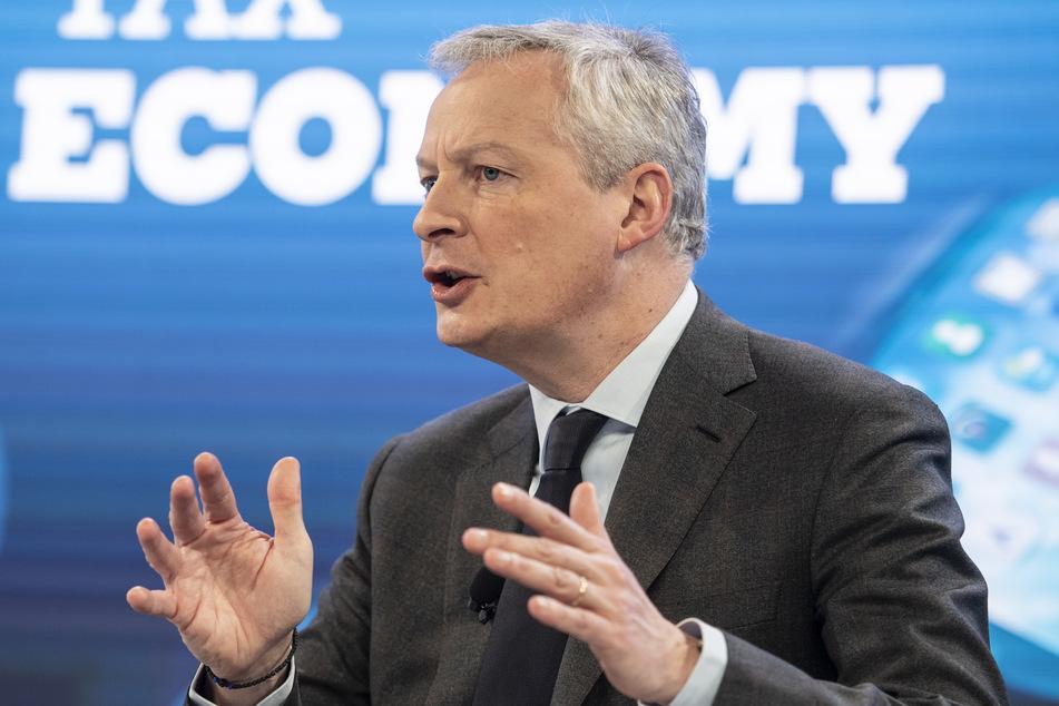 Frankreichs Wirtschafts- und Finanzminister Bruno Le Maire (50). (Archivbild)