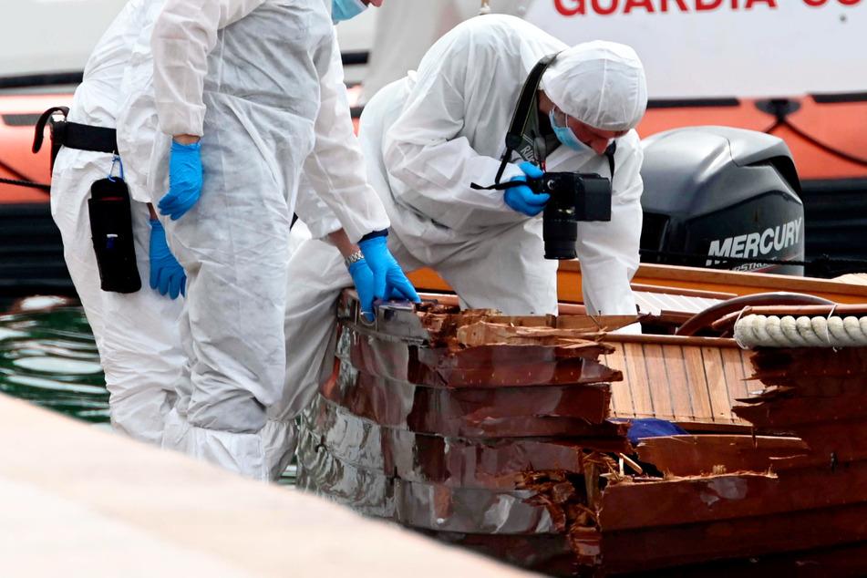 Das Boot des Münchners stieß den Ermittlungen zufolge mit dem Boot eines italienischen Paares zusammen, das vom Westufer des Sees stammte.