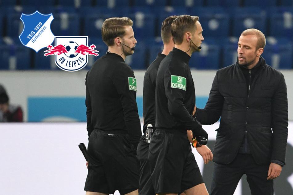 """TSG-Coach Hoeneß motzt nach Pleite gegen RB Leipzig: """"Wenn es einen Sieger gibt, sollten wir das sein!"""""""