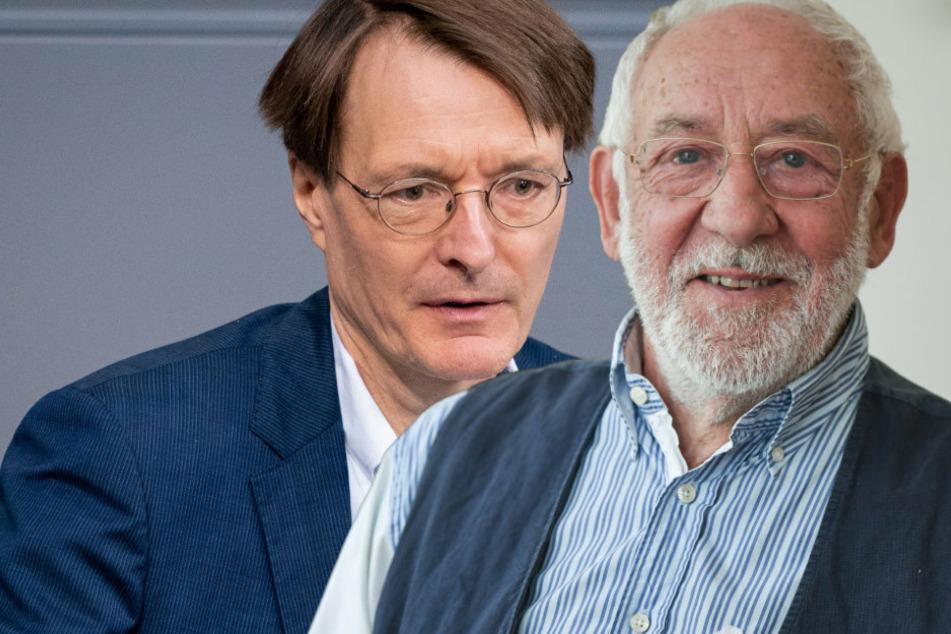 """Dieter Hallervorden geht Karl Lauterbach an: """"Das ist Panikmache"""""""