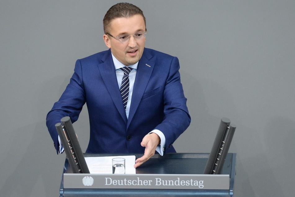 Carsten Körber (41) geht wieder für die CDU Zwickau ins Rennen.