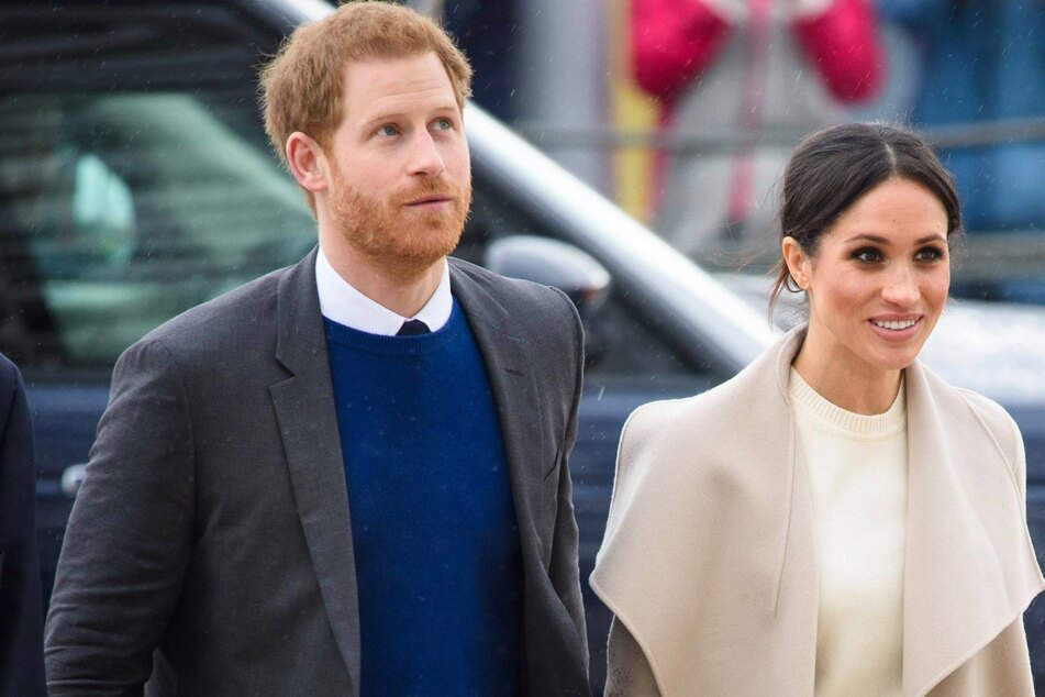 Prince Harry (36) and Duchess Meghan (39)