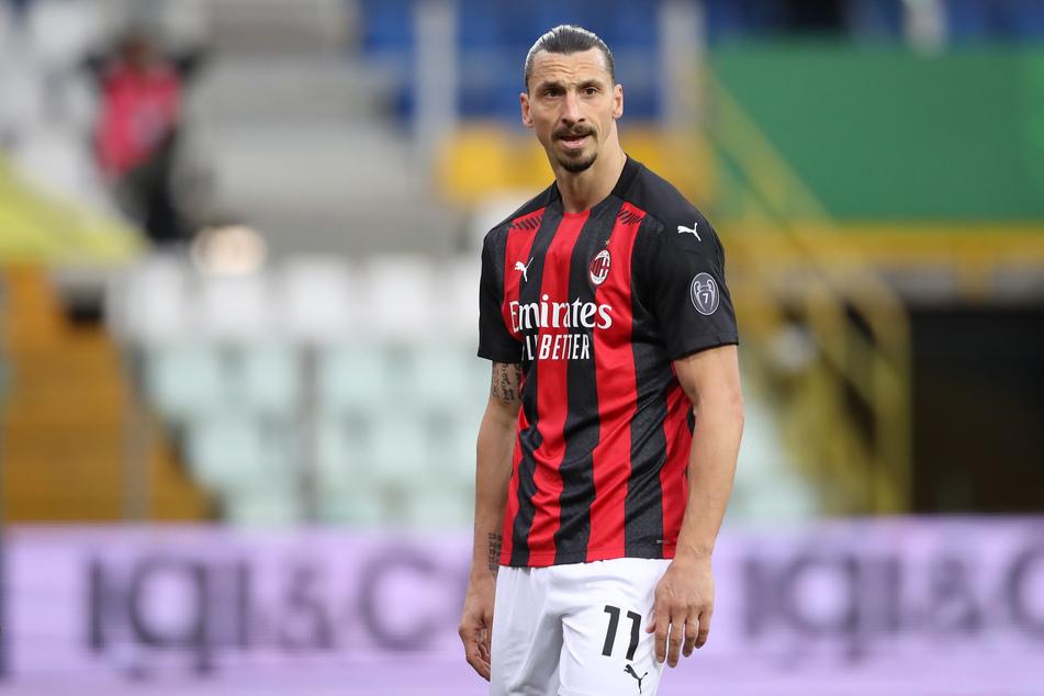 """Gibt es auch auf Klubebene Probleme? """"Ibra"""" spielt aktuell für den Serie-A-Vertreter AC Mailand."""