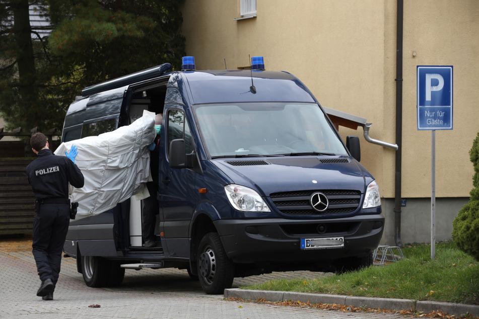 Am Mittwoch durchsuchten Polizeibeamte das Asylbewerberheim in Dresden-Pappritz.