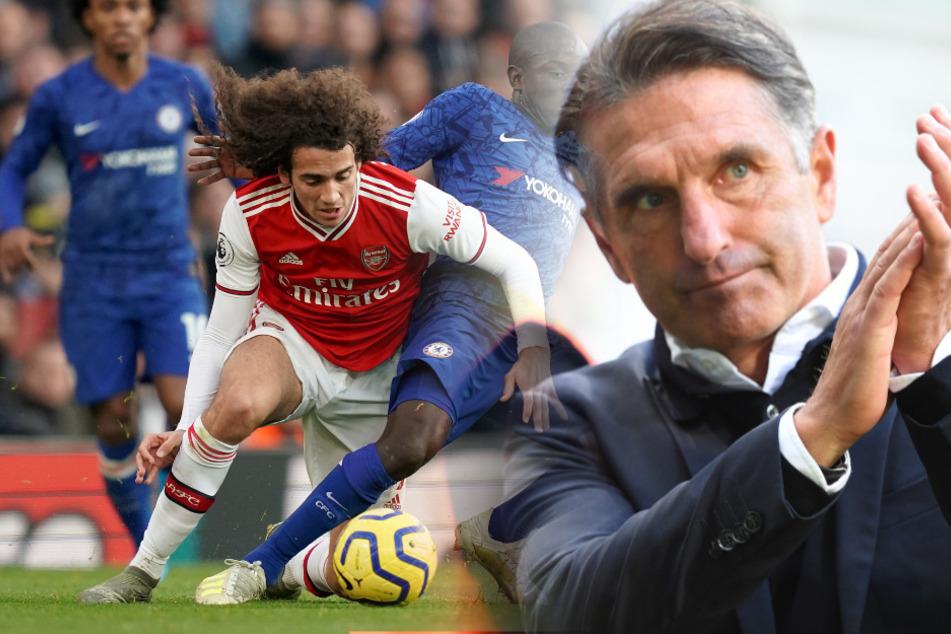 Bruno Labbadia kann sich über Matteo Guendouzi vom FC Arsenal freuen.