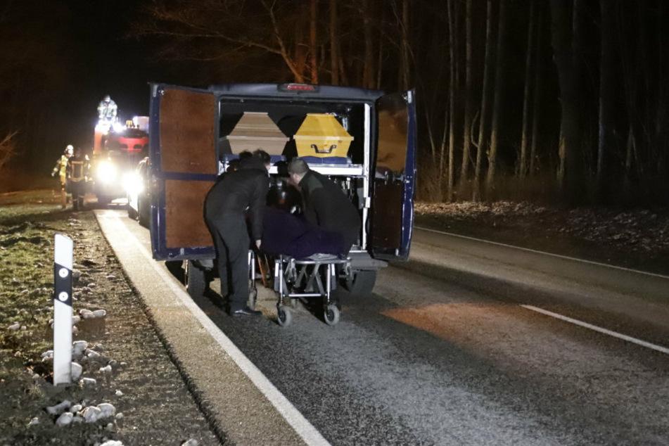 Polizei findet vermissten älteren Mann tot am Straßenrand