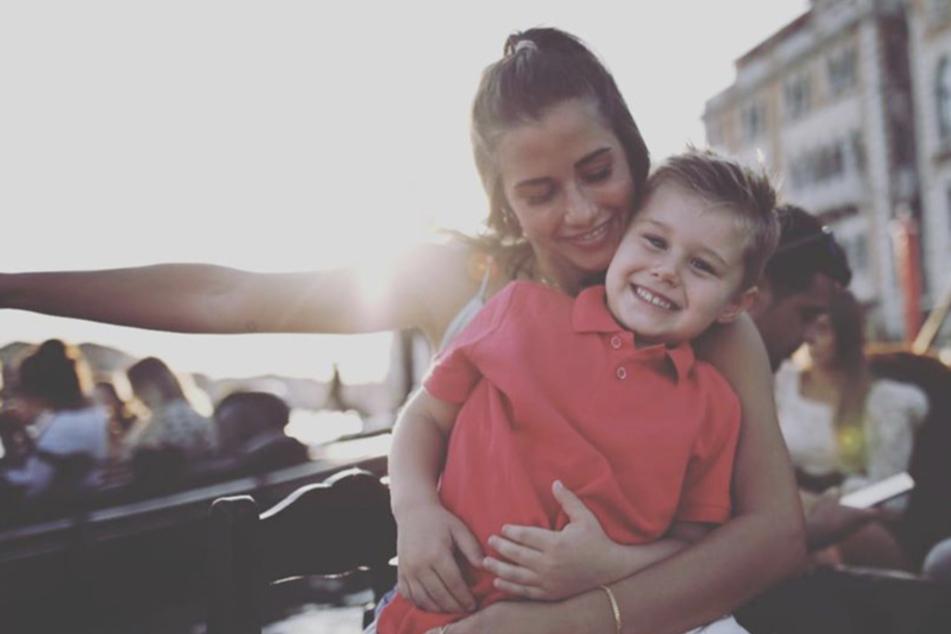 Nach Söhnchen Alessio (4) wünscht sich Sarah Lombardi nun ein Mädchen.
